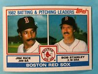1983 Topps Boston Red Sox Complete Team Set - 28 cards Rice/Yastrzemski/Boggs