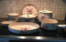 French Country Pottery 10 Piece Set