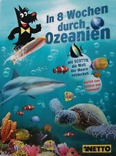 Netto Ozeanien 1 In 8 Wochen durch Ozeanien 10 Sammelkarten zum Aussuchen