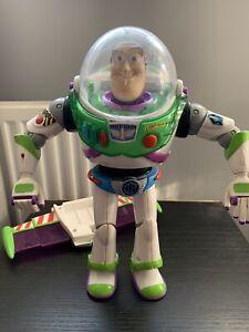 Disney Pixar Toy Story Buzz Lightyear Blue Anti Gravity Utility Belt Figure