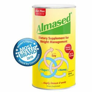 Almased Meal Replacement Shake - Plant Based Protein Powder for Weight Loss
