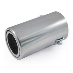 Car Exhaust Tip Trim Pipe Tail Muffler Chrome For MG Rover Mini Cooper