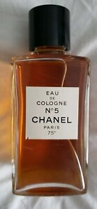 VINTAGE EAU DE COLOGNE No 5 CHANEL PARIS 75* Sealed RARE MINT 3.3 fl oz