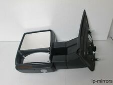 2007-2014 FORD F-150 LEFT DRIVER  UNPAINTED TOWING MIRROR