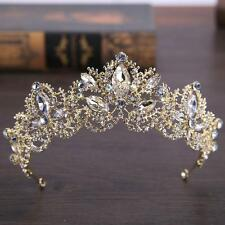Baroque Tiaras Princess Wedding Crown Bride Tiara Diadem Coronet Hair Accessory