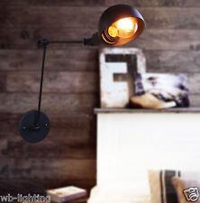 Fold Adjustable Black Ceiling Vintage Retro Chandelier Wall Light Lamp Fitting