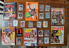 Rare Michael Jordan ERROR card lot! Plus mags & posters! Promo cologne sticker!