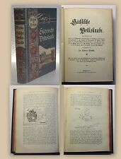 Wuttke Sächsische Volkskunde 1900 Geschichte Historik Ortskunde Landeskunde xy
