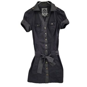 Guess Texas Embroidered Shirt Dress Size 8 Naughty Night Multi SOLD OUT!