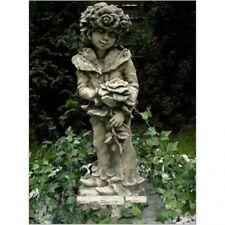 Steinfigur Rosenjunge