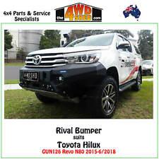 Rival Bumper Bull Bar fit Toyota Hilux GUN126 Revo N80 2015-6/2018 Drivetech 4x4