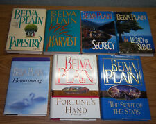 LOT Belva Plain HC TAPESTRY HARVEST SECRECY HOMECOMING LEGACY OF SILENCE FORTUNE