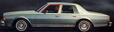 1980-1990 Chevrolet Caprice & Impala 4dr front door window channel seals, pair