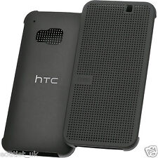 HTC DOT VIEW CASE/COVER FOR NEW HTC ONE M9 - HC M231 - GENUINE OFFICIAL