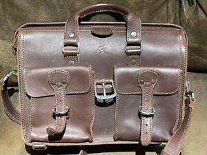Saddleback Leather Flight Bag- Chestnut