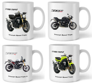 Motorbike Mug with Triumph Motorcycle Gift