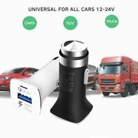 QC3.0 Car Fast Charging USB Charger Adapter For Samsung S8 S9 PLUS iPhone X 8 7