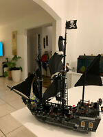 4184 The Black Pearl Ship Pirates of the Caribbean Custom Model Jack Sparrow MOC