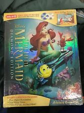 Disney  LITTLE MERMAID  (Blu-ray+DVD)  Target Exclusive with 32 Page Storybook