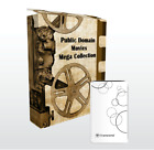 Public Domain Classic Movies Collection External Drive, Old Serials, 980 Titles