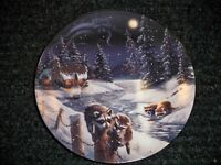 "COLLECTORS PLATE ""TWO BY THE NIGHT,TWO BY THE LIGHT""  BRADFORD EXCHANGE"