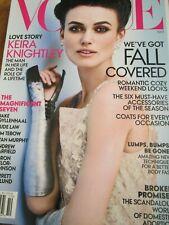 VOGUE US 10/2012 Keira Knightley MARIO TESTINO Garrett Hedlund PETER LINDBERGH