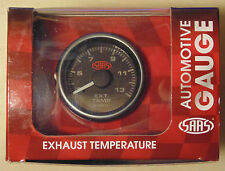 SAAS 52mm Exhaust Temperature Gauge for 4WD Nissan Toyota Ford Subaru Holden