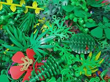 20x LEGO® Pflanzen Blumen Blüten Bäume Blätter Tanne Wald Gräser Konvolut