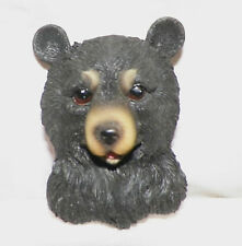 YNEW BLACK BEAR WILDLIFE 3D REFRIGERATOR FILE CABINET MAGNET DECORATION ADORABLE