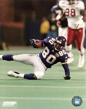 CRIS CARTER NFL 8x10 Action Photo @ Metrodome MINNESOTA VIKINGS #80 Hall of Fame