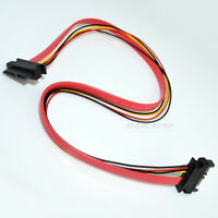 Slimline SATA (Male) to Slimline SATA (Female) Jack Extension Power Combo Cable