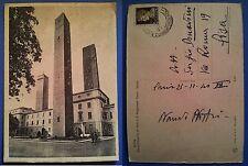 Pavia - Piazza Leonardo da Vinci e 3° Regg. Genio - Scuola, viaggiata nel 1940