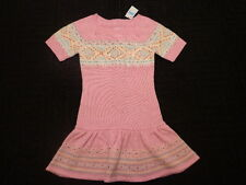 NWT New Girls Size 10 Justice Pink Tunic Sweater Dress