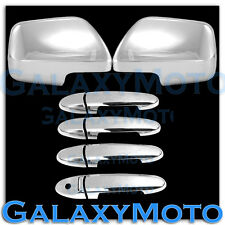 08-10 Mazda Tribute Triple Chrome plated Mirror+4 Door handle no PSG KH cover