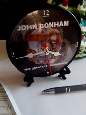 "Led Zeppelin - John Bonham Greatest Timekeeper - 5"" Desktop Clock With Gift Box"