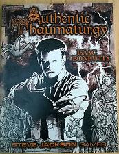 GURPS – AUTHENTIC THAUMATURGY - Steve Jackson Games sourcebook guide RPG JDR