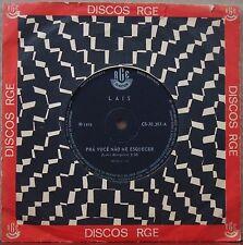 "LAIS 1970 ""Mil canções pra você"" Psych Tropicalia Soul  7"" BRAZIL 45 HEAR"