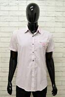 Camicia ANTONY MORATO Uomo Taglia Size L Maglia Shirt Man Manica Corta a Righe