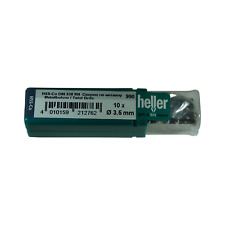 Heller 3.5mm HSS Cobalt Metal Drill Bits 10 Pack HSS-Co - Quality German Tools