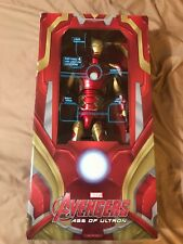 "IRON MAN MARK 43 Avengers 2 Age of Ultron 18"" 1/4 Scale LED Figure Neca 2016"