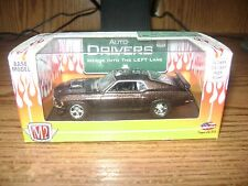 M2 Machines Auto Drivers Release 06 1970 FORD MUSTANG BOSS 302 Brown 1:64