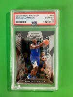 2019 Panini Prizm dp #64 Zion Williamson PSA 10