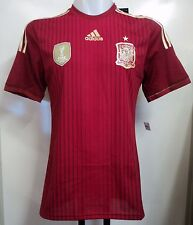 Spain 2014 Climacool Home Shirt by adidas Size Medium With Tags