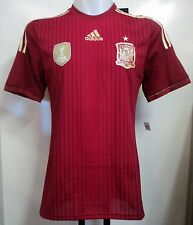 SPAIN 2014 ADIZERO HOME SHIRT BY ADIDAS SIZE EXTRA SMALL BRAND NEW WITH TAGS