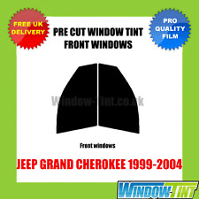 JEEP GRAND CHEROKEE 1999-2004 FRONT PRE CUT WINDOW TINT