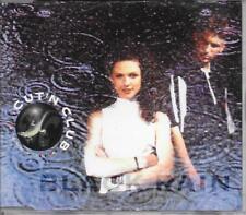 CUT'N CLUB - Black rain CDM 5TR House Pop Rap 1997 Sweden RARE!