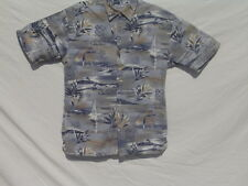 Nautical / Tropical S Short Sleeve Shirt  - Windham Point - 100%Cotton