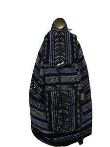 Handmade Woven Mexican Backpack Sarape  Bag Hippie Bohemian Rasta unisex