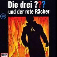 """DIE DREI ??? """"UND DER ROTE RÄCHER (FOLGE 96)"""" CD HÖRBUCH NEUWARE"""