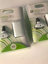 Lot Of 2 Genuine FACTORY SEALED Xbox 360 Play and Charge Cable Kit And Battery